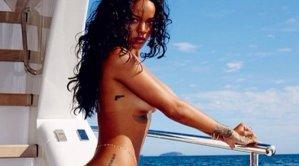 Rihanna sexy in bikini op Instagram