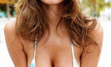 Alyssa Arce, topless in Galore Magazine