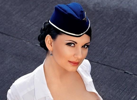 Seks Met - Naakte Vrouwen, een geile stewardess in
