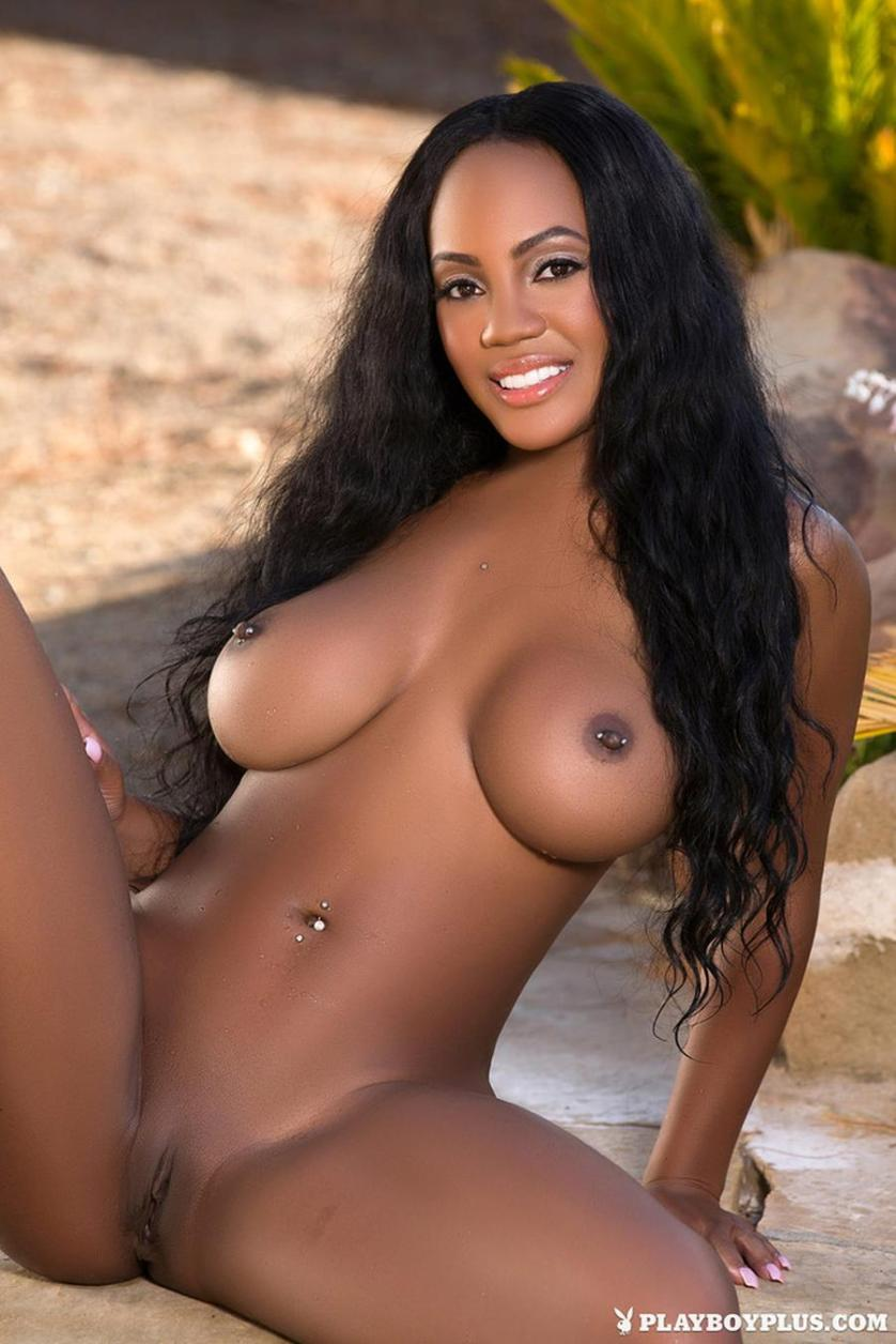 hot nude black women playboy