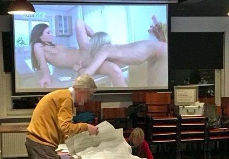 Porno voetbalkantine
