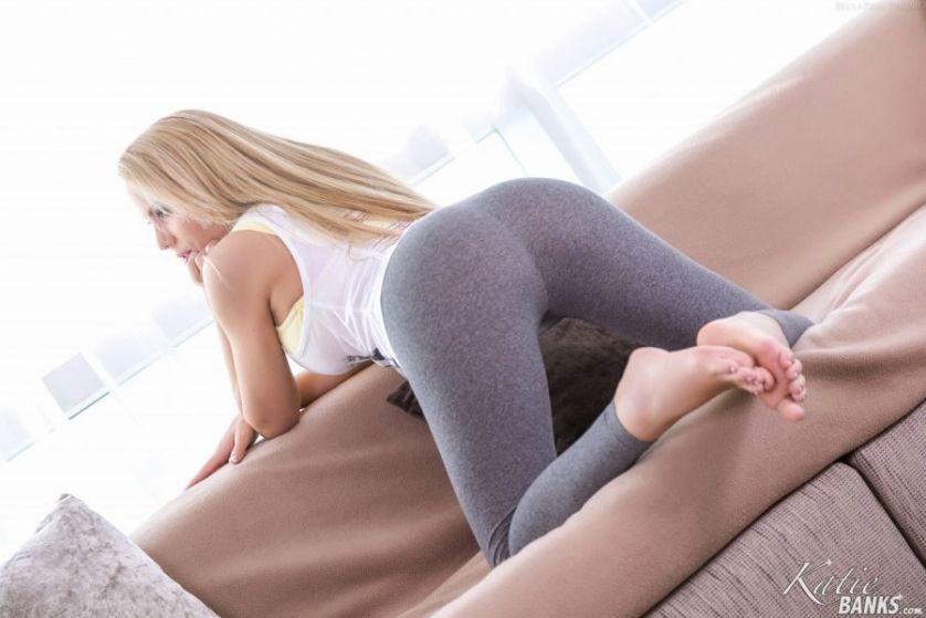 De vagina van Katie Banks