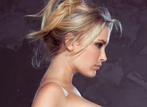 Jenni Lynn, blonde schoonheid met lange neuk me laarzen