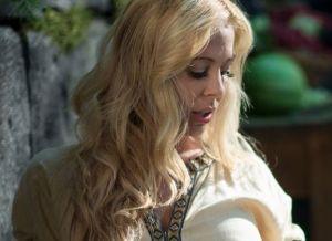 Geile cosplay met een knappe blondine