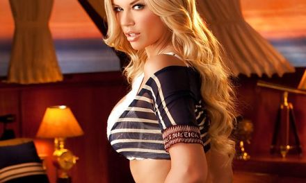 Jessa Lynn Hinton, knappe Playboy babe met mooie stevige borsten
