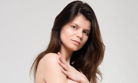 De casting van Davina, die is naakt dus heel erg mooi