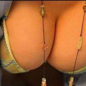 Mooie vrouwen met grote borsten, foto's