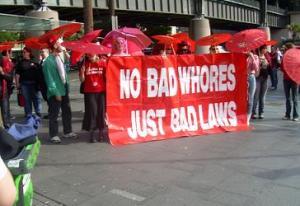 2007: Sekswerkers demonstreren in Sydney voor meer rechten. Foto Sietske Altink