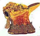 Schoen van een courtisane