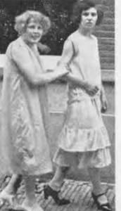 Prostituees op De Dijk, jaren twintig van de 20ste eeuw