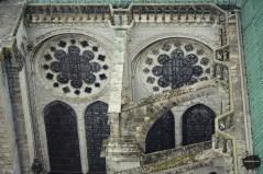 Łęki przyporowe katedry w Chartres