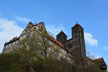 Kolegiata i zamek w Quedlinburgu