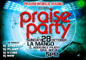 Praise Party This Sunday!