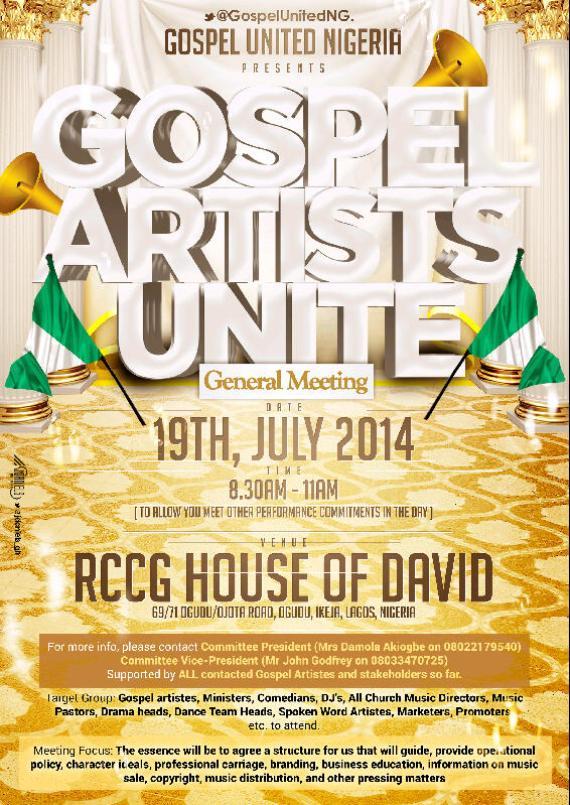 GospelUnitedNG Flyer 2