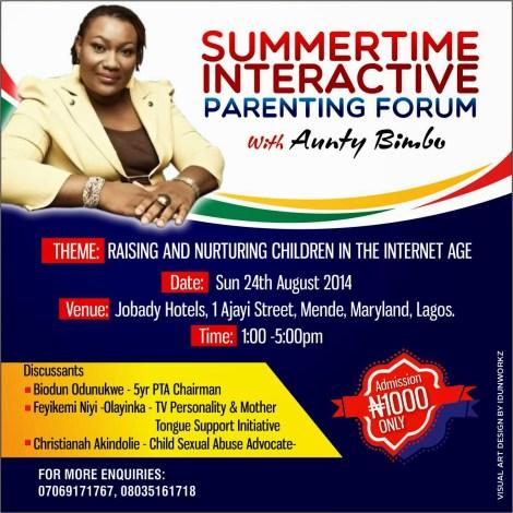 parenting forum DP