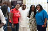 Nikki with Capital FEMI, Sabina of Naija FM and Ibitayo Jeje