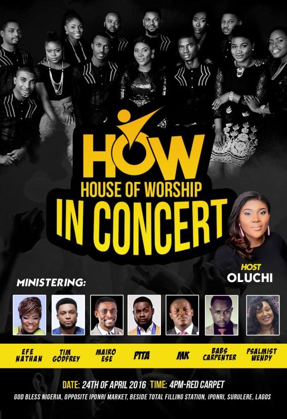 HOW, Concert, Live