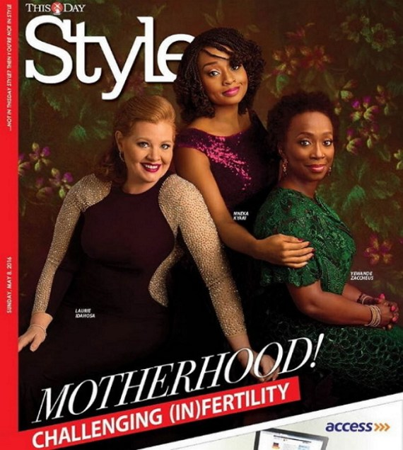 Thisday, infertility, cover, Thisday Style Cover