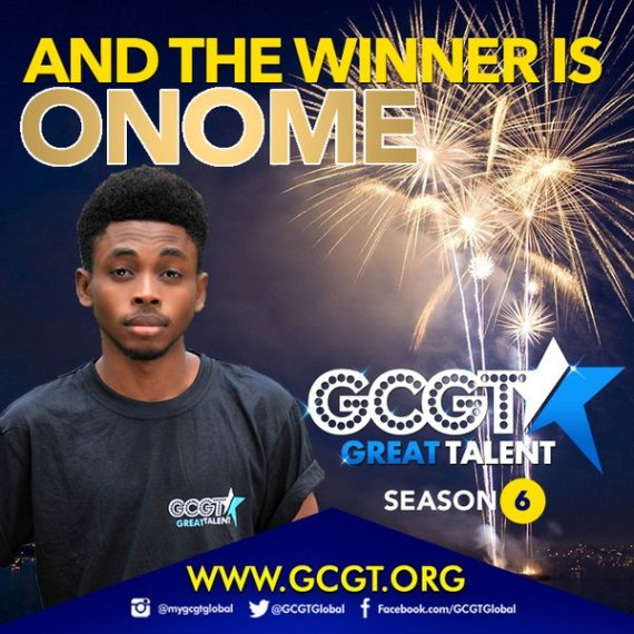 onome wins n5m at GCGT Season 6