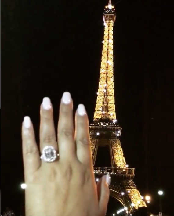 Israel Houghton Proposes To Adrienne Bailon