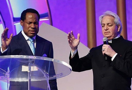 Pastor Chris and Benny Hinn