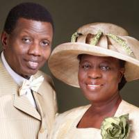 Excitement In Camp! Pastor Adeboye Kisses Wife During Book Presentation