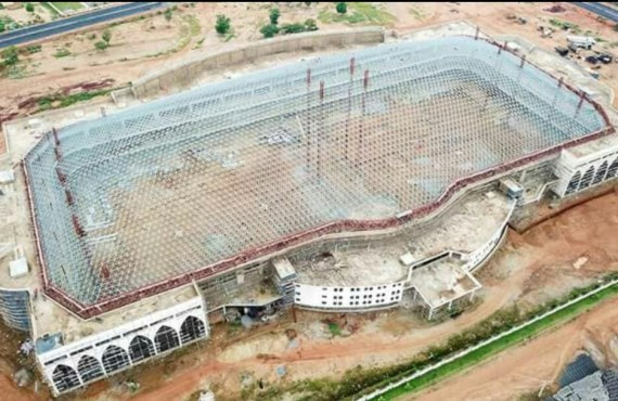 World's Largest Church Auditorium With 100K Capacity Nears Completion In Abuja – Rivals Winners Chapel Record