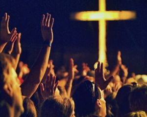 Raise Hands During Worship