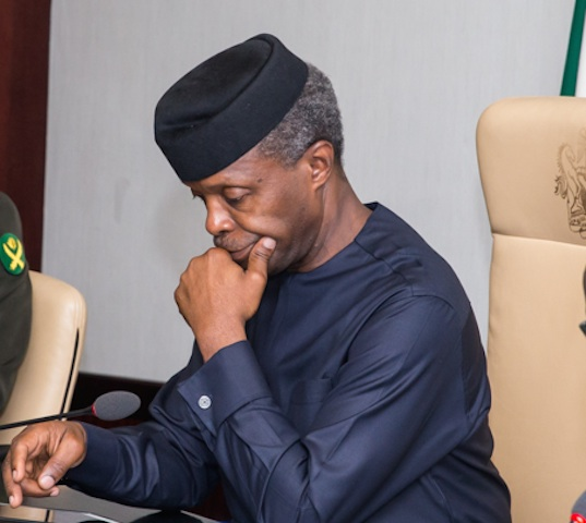 """Whenever I Want To Sack Corrupt Officials, Religious Leaders Intervene"" - Osinbajo Says"
