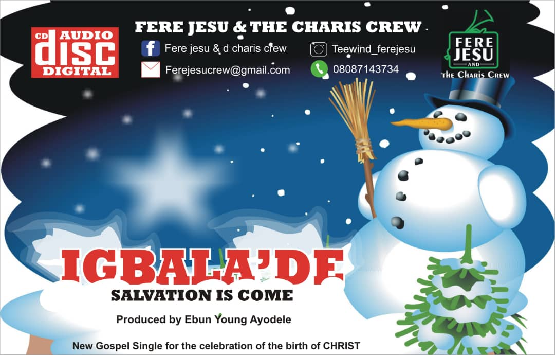 #SelahMusic: Fere Jesu & The Charis Crew | Igbala De