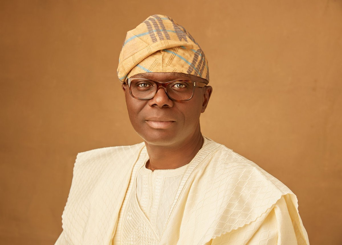 Gov. Babajide Sanwo-Olu. Photo: The Sun