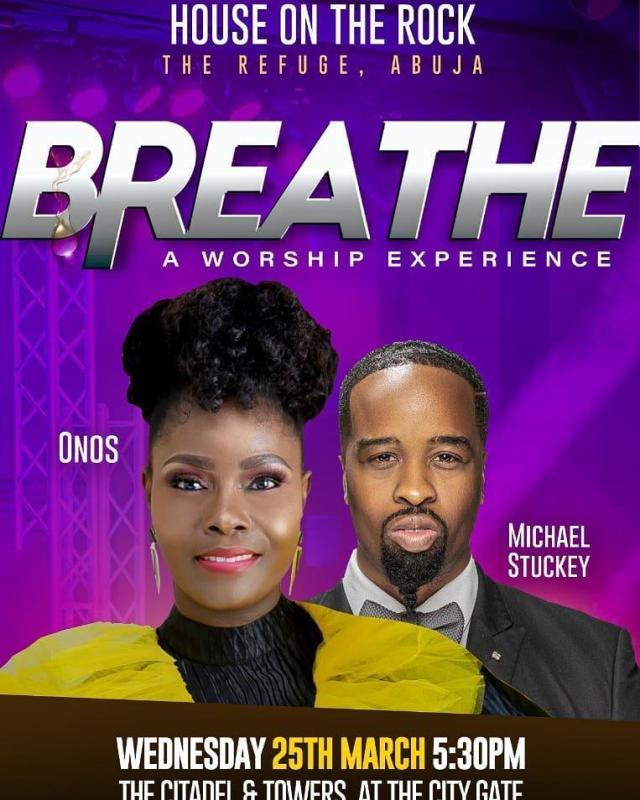 Gospel Singer Onos Takes Breathe Concert To Abuja
