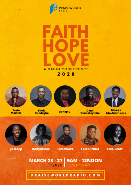 Jo Deep, Limoblaze & More To Minister At Faith Hope Love Conference 2020   March 23-27
