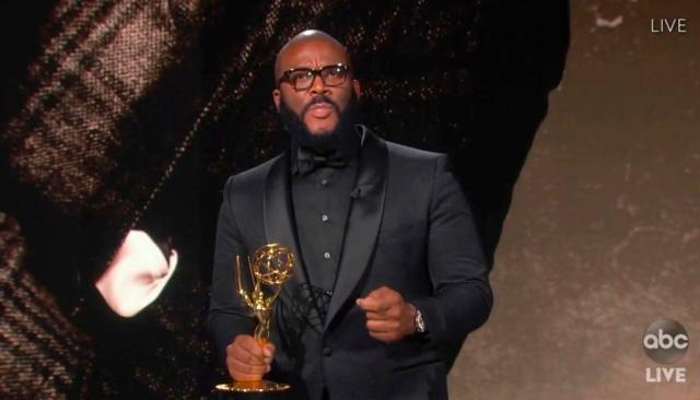 Billionaire Film Maker Tyler Perry Honored With Governors Award