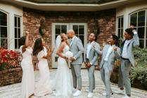 Phil Thompson Weds Takiyah Romain