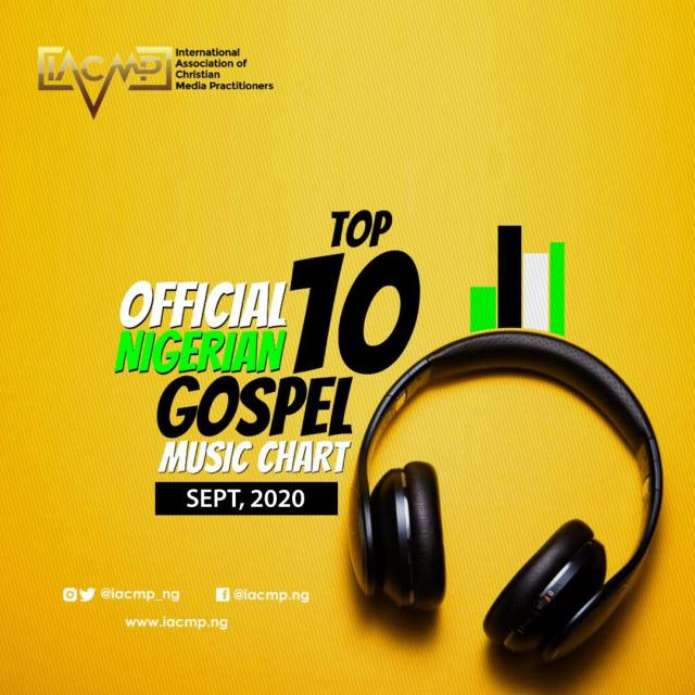 - Moses Bliss Tops Official Nigerian Gospel Music Top 10 Chart [Sept 2020]