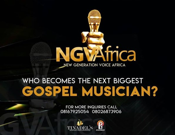 New Generation Voice Africa: Win $30,000 In Gospel Reality TV Show, NGVAFRICA