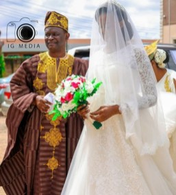 Photos From Darasimi Bamiloye And Lawrence Oyor Wedding