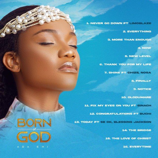 "Gospel Artiste Ada Ehi Sets Release Date For ""Born Of God"" Album"