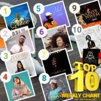 SelahAfrik Official Top 10 Gospel Songs Of The Week | 15th - 20 Feb. 2021