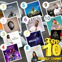 SelahAfrik Official Top 10 Gospel Songs Of The Week | 21st - 28th Feb. 2021