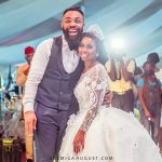 Comedian arole wedding