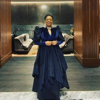 """Sinach Presents """"Song Of The Year"""" Plaque At GMA Dove Awards 2021"""