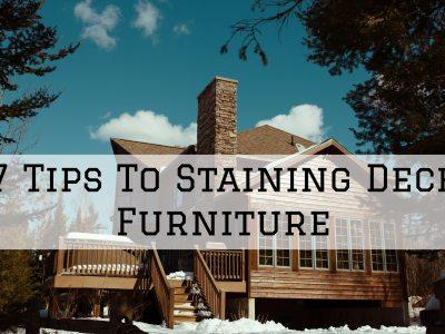2020-08-02 Selah Painting St. Louis MO Staining Deck Furniture