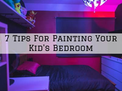 tips for painting your kid's bedroom