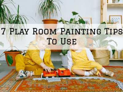 2021-10-09 Selah Painting St. Louis MO Play Room Painting