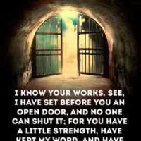An Open Door No Man Can Shut