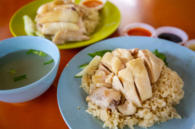 Foods you should eat in Singapore Tian-Tian