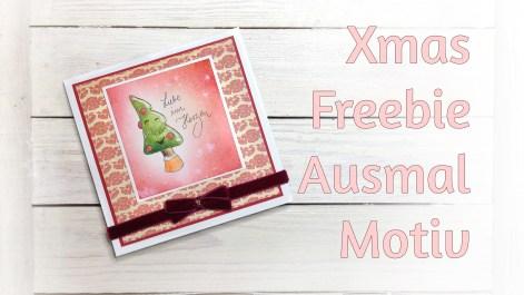 Digistamp freebie Weihnachtsbaum