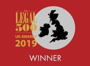 Legal 500 Awards 2019